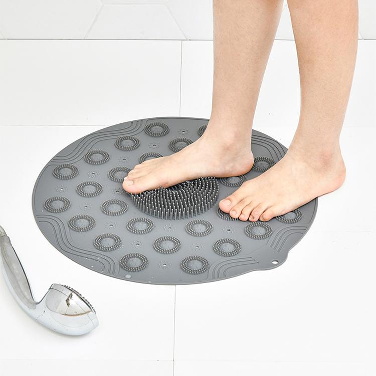 圆形浴室防滑洗澡按摩垫