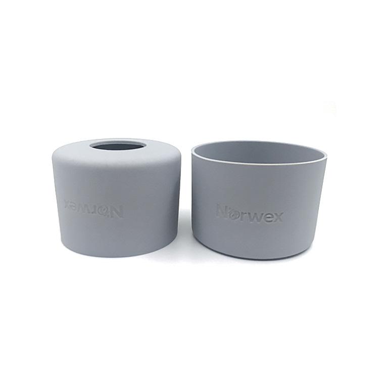 定制硅胶杯套 防滑防烫隔热保温杯套 玻璃保护套 硅胶杯套定制