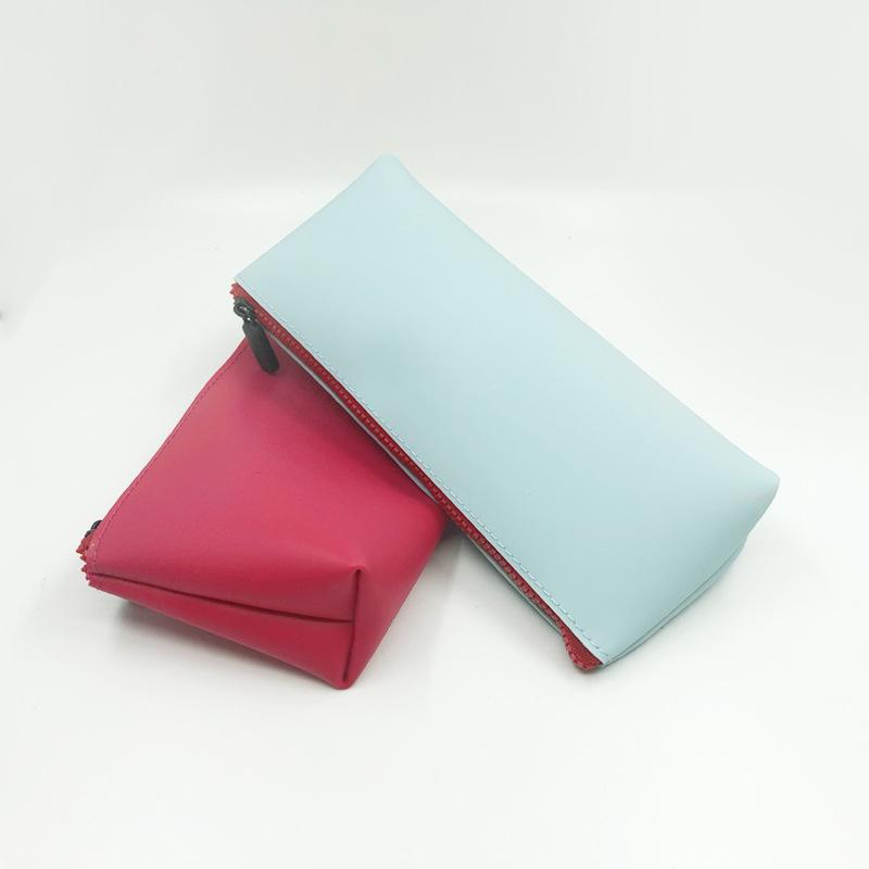 新款硅胶包 化妆品收纳包便捷手机零钱硅胶笔袋手提包文具包