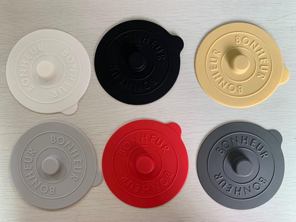 创意硅胶杯盖防漏防尘陶瓷茶杯水杯通用盖子密封碗盖多用途保鲜盖