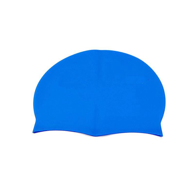 加大款防水不勒头硅胶泳帽 硅胶材质超弹力 时尚舒适成人硅胶泳帽